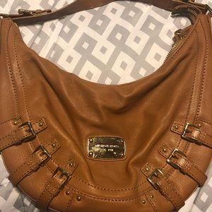 Leather Michael Kors bag